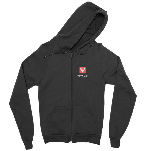 Vivaldi Zip hoodie