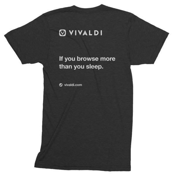 Short sleeve soft t-shirt (print on back)