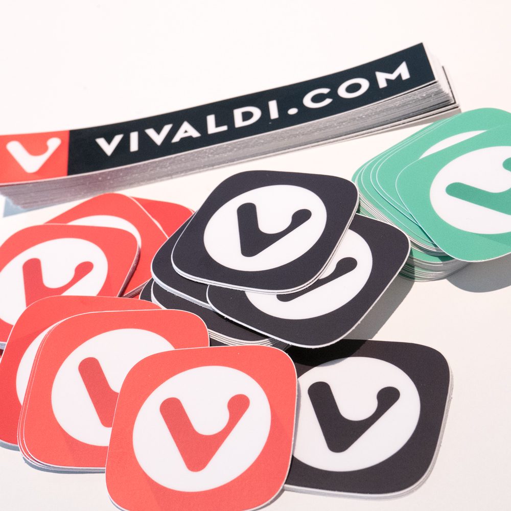 Vivaldi Stickers