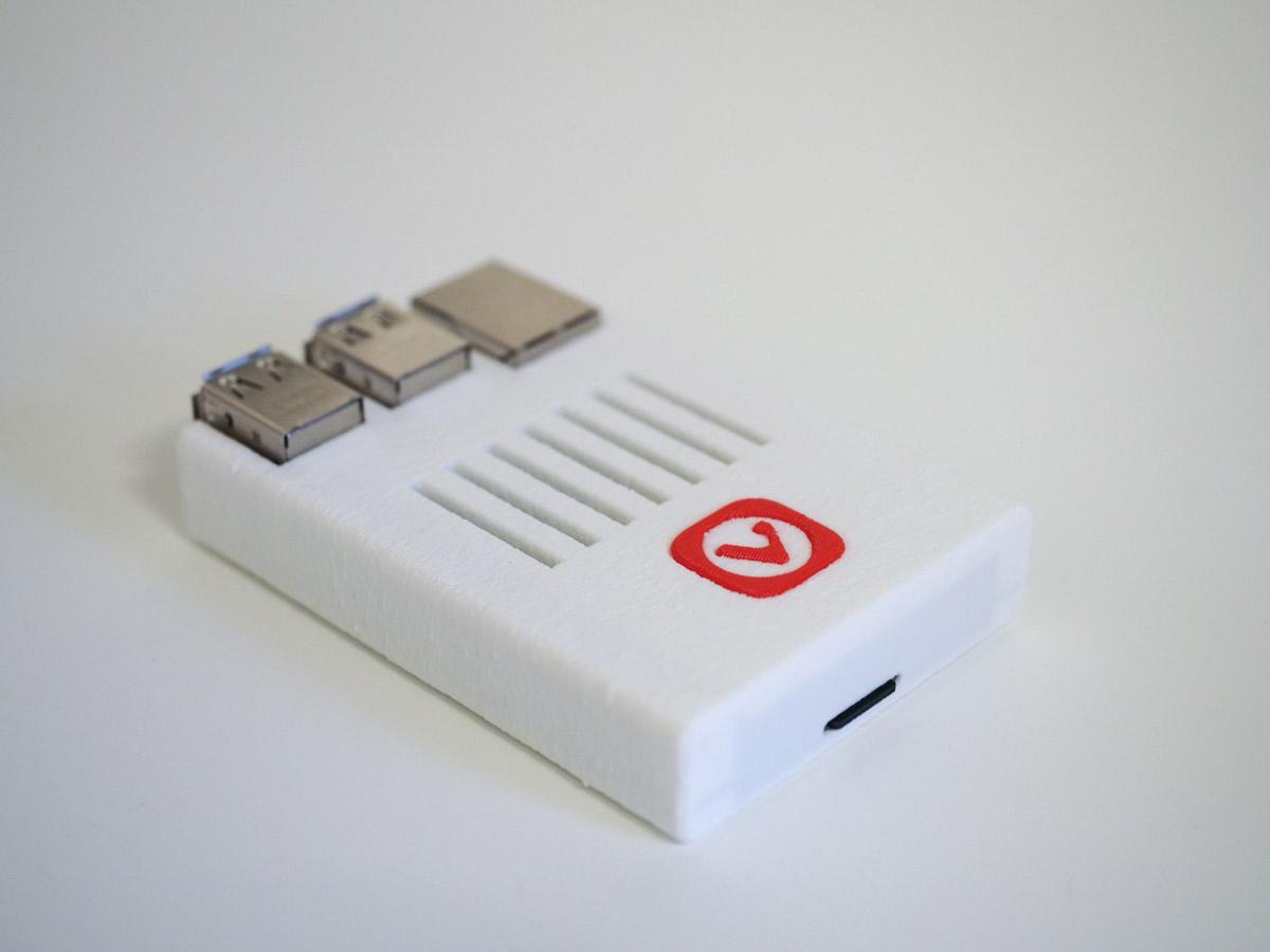 Vivaldi Raspberry Pi Case
